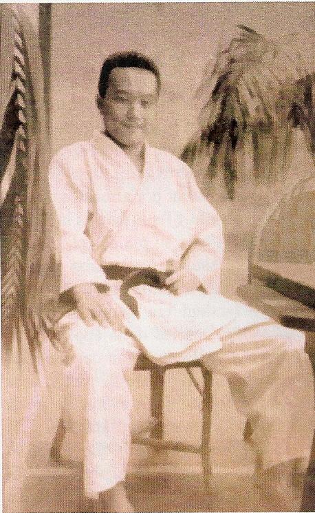 Tadashi Abe Sensei, Biarritz 1952, 1 delegado del aikikai en Francia
