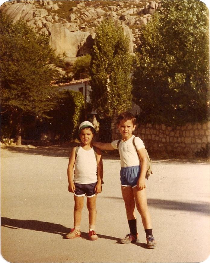 La Pedriza(Madrid) Junio 1980