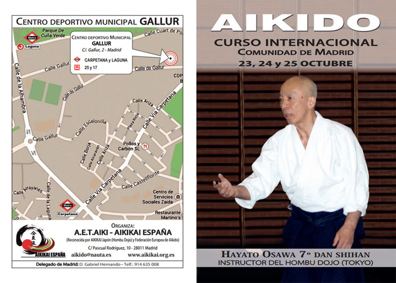 curso internacional de aikido en madrid