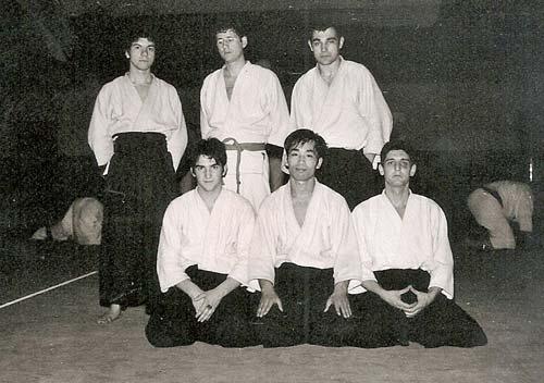 2-marzo-1970-Barcelona-(España)-los-responsables-del-curso-Nakazono,Tamura-y-Kytaura-