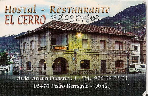 Hostal-el-Cerro