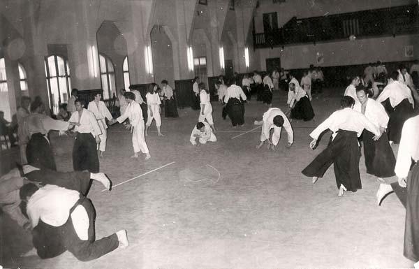 1971Barcelona curso aikido
