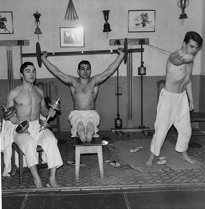4 Tomas Entrenando 1963