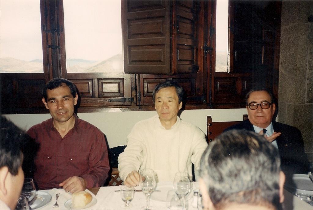 8 Abril1990 Egea de los caballeros T.Sanchez B.Pulido y N.Tamura