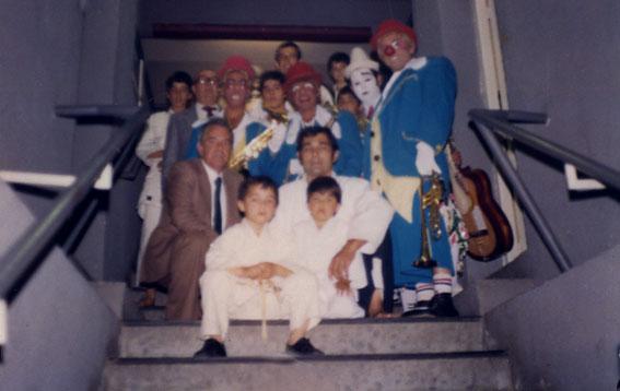 Aikido en pabellon del Real Madrid