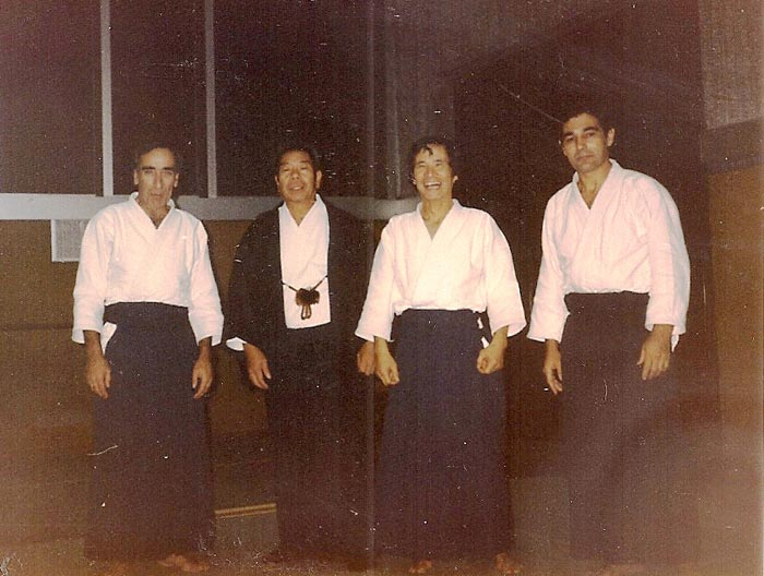 curso de aikido Saito sensei Paris