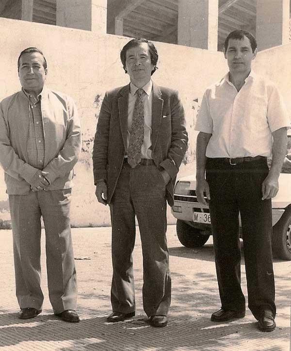 1984 Curso de aikido en Castellón