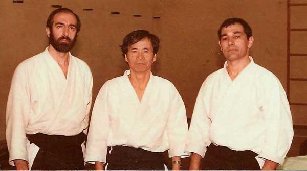 Curso de Aikido Santander en 1983