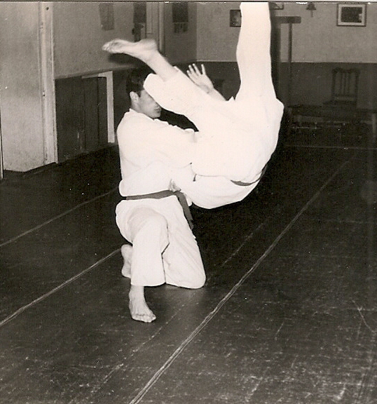 5 Tomas Sanchez ejecuta Uki Otoshi 1965