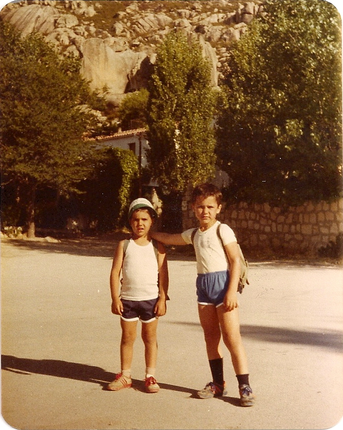 La Pedriza(Madrid) Junio 1980