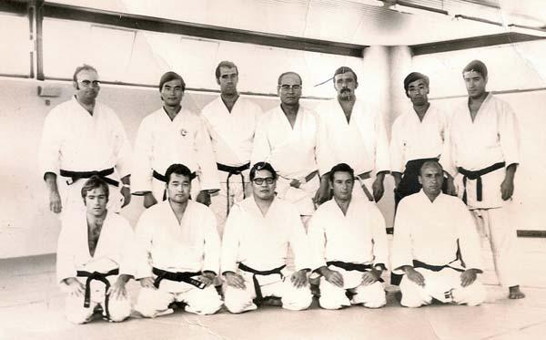 15 160971 Profesores del curso de Titulacion Judo Karate y Aikido