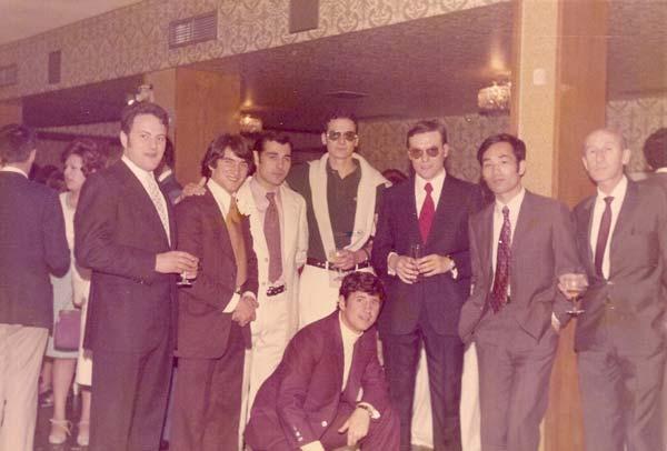 23 Boba de Ponce 1971 Octavio de la Mata, Tomas Sanches , Kitaura y Tomas de Migeul con otros practicantes.
