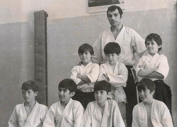 Alumnos infantiles de Tomas Sanchez en el Coyrema