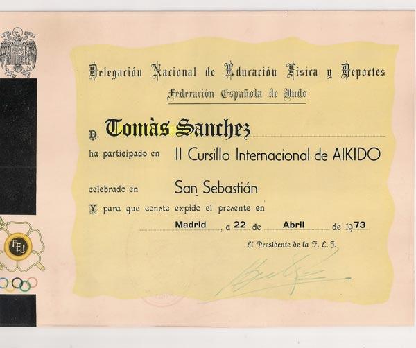 diploma aikido