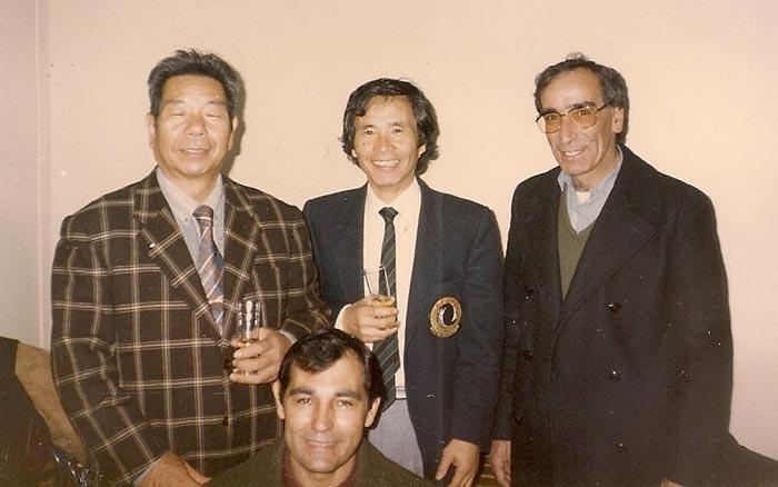 Curso de aikido Paris 1985