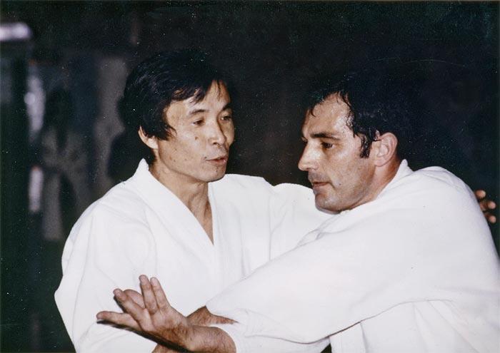Tamura Sensei y Tomas Sanchez